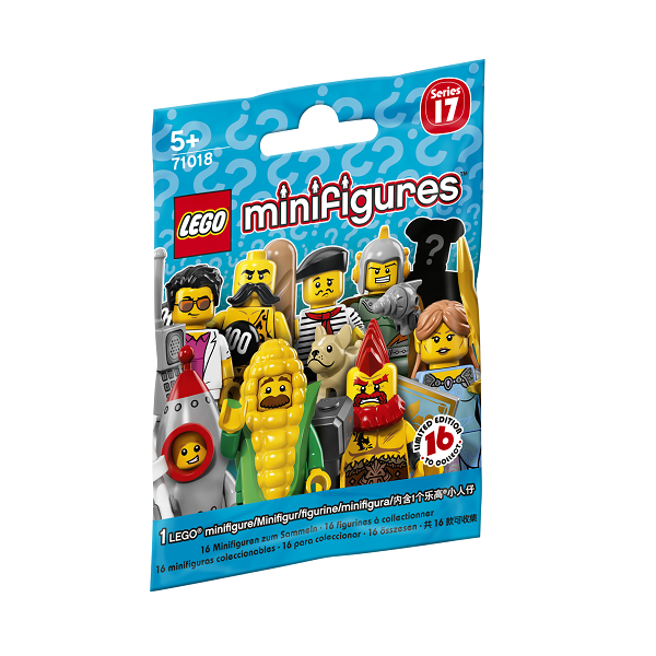 Image of Serie 17 - 71018 - LEGO Minifigures (71018)