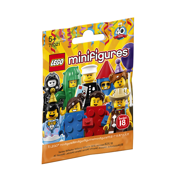 Image of Serie 18: Fest - 71021 - LEGO Minifigures (71021)