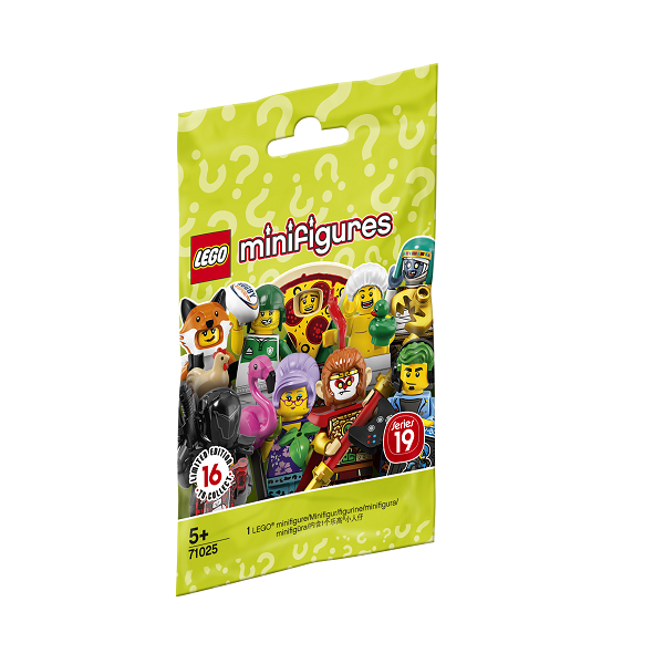 Image of Serie 19 - 71025 - LEGO Minifigures (71025)