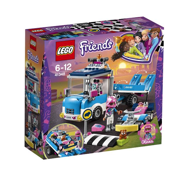 Image of   Service- og vedligeholdelsesvogn - 41348 - LEGO Friends