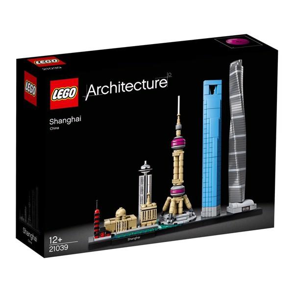 Image of Shanghai - 21039 - LEGO Architecture (21039)