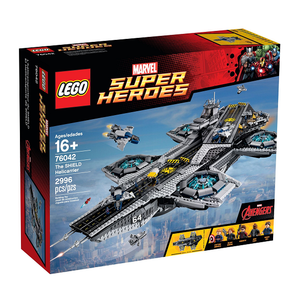 Image of   SHIELD Helicarrier - 76042 - LEGO Super Heroes