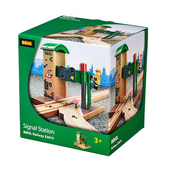 Signalpost - 33674 - BRIO Tog
