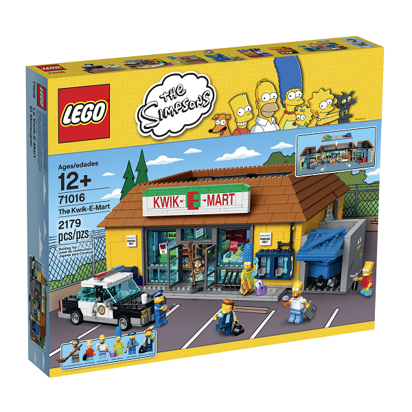 Image of   Simpsons Kwik-E-Mart - 71016 - LEGO Exclusive