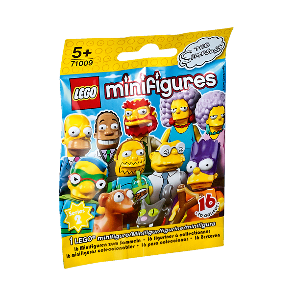 Image of Simpsons serie 2 - 71009 - LEGO Minifigures (71009)