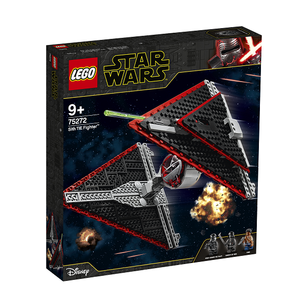 Image of   Sith TIE-jager - 75272 - LEGO Star Wars