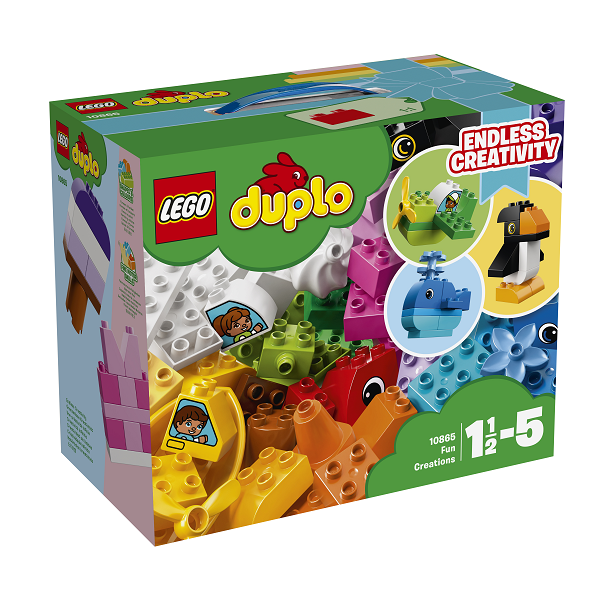 Image of Sjove kreationer - 10865 - LEGO DUPLO (10865)