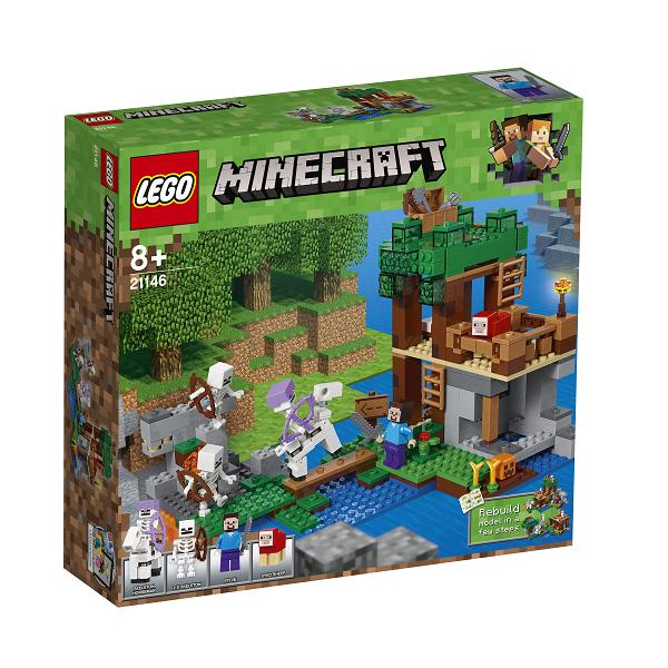 Skeletangrebet - 21146 - LEGO Minecraft