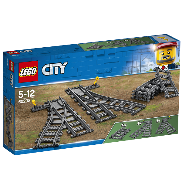 Image of Skiftespor - 60238 - LEGO City (60238)