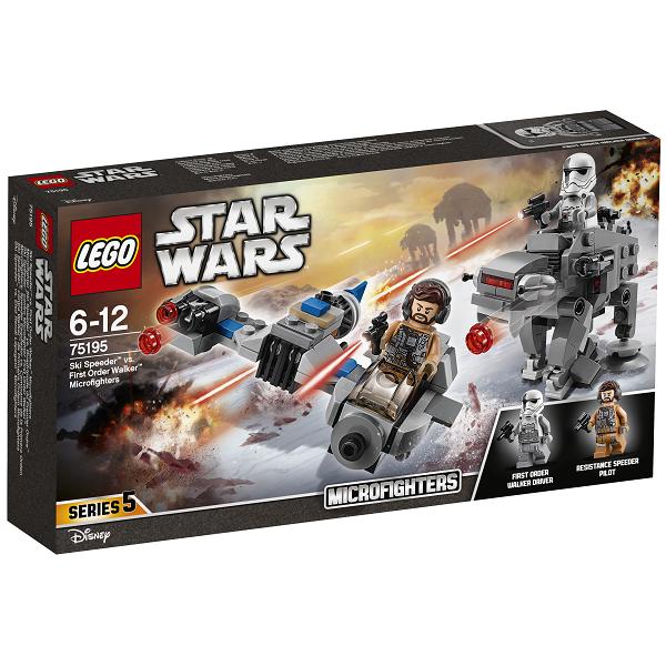 Image of Skispeeder mod Den Første Ordens ganger Microfighters - 75195 - LEGO Star Wars (75195)