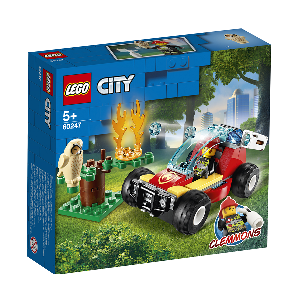 Image of   Skovbrand - 60247 - LEGO City