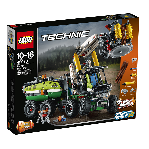 Image of Skovmaskine - 42080 - LEGO Technic (42080)