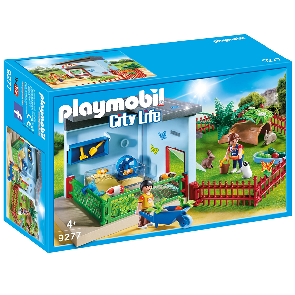 Image of Smådyrspension - 9277 - PLAYMOBIL City Life (PL9277)