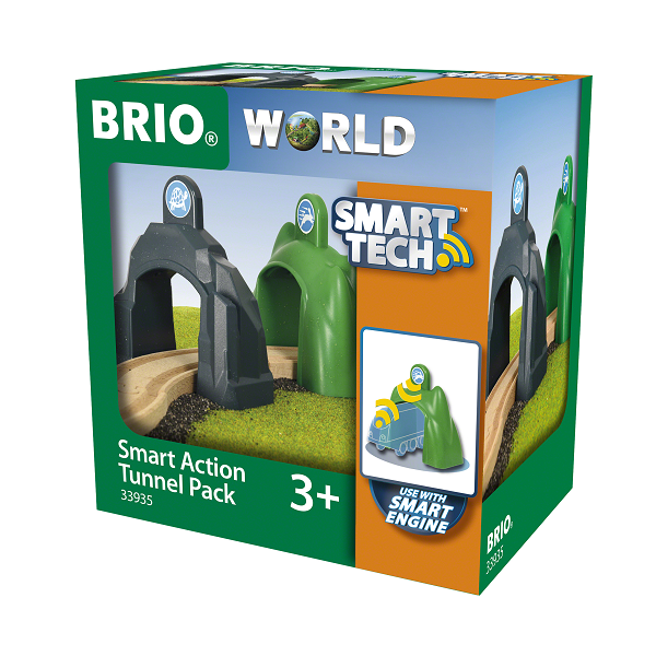 Image of Smart Action-tunnelpakke - BRIO (33935)