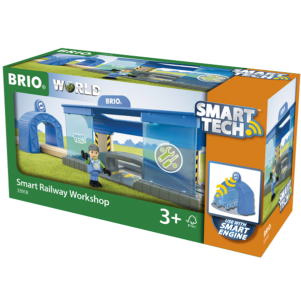 Image of Smart Tech værksted - BRIO (33918)