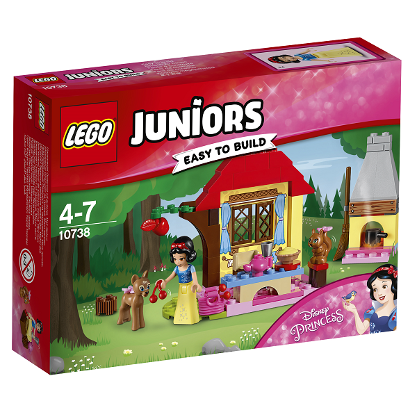 Image of Snehvides skovhytte - 10738 - LEGO Juniors (10738)