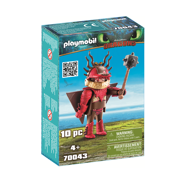 Image of   Snotfjæs i flyveuniform - PL70043 - PLAYMOBIL Dragons