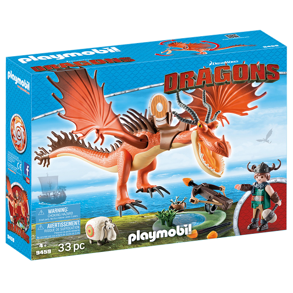 Image of Snotfjæs og Krogtand - 9459 - PLAYMOBIL Dragons (PL9459)