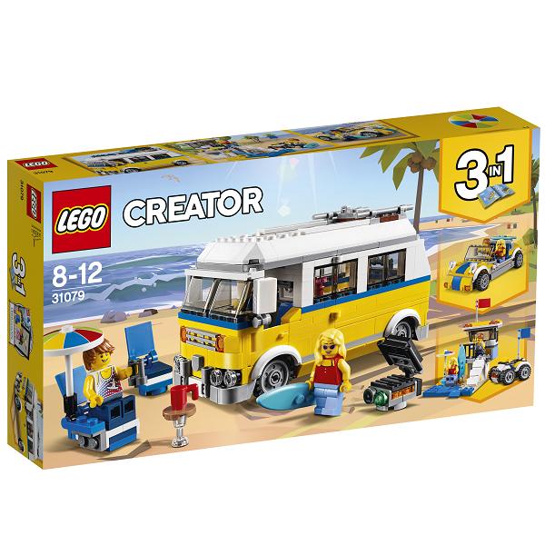 Image of Solskins-surfervogn - 31079 - LEGO Creator (31079)