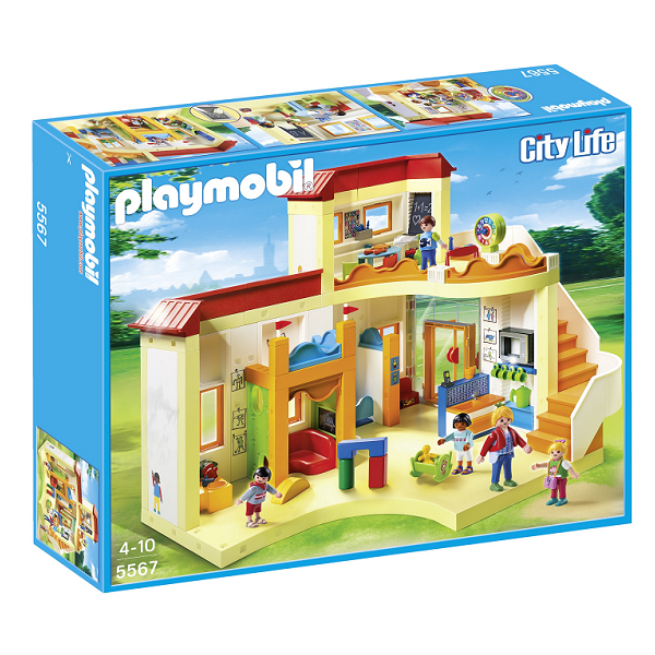 Image of Solskinsbørnehaven - 5567- PLAYMOBIL City Life (PL5567)