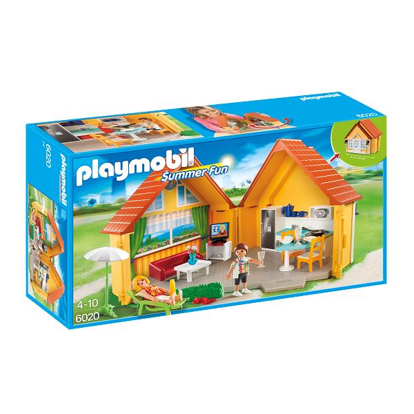 Image of Sommerhus - 6020 - PLAYMOBIL Summer Fun (PL6020)