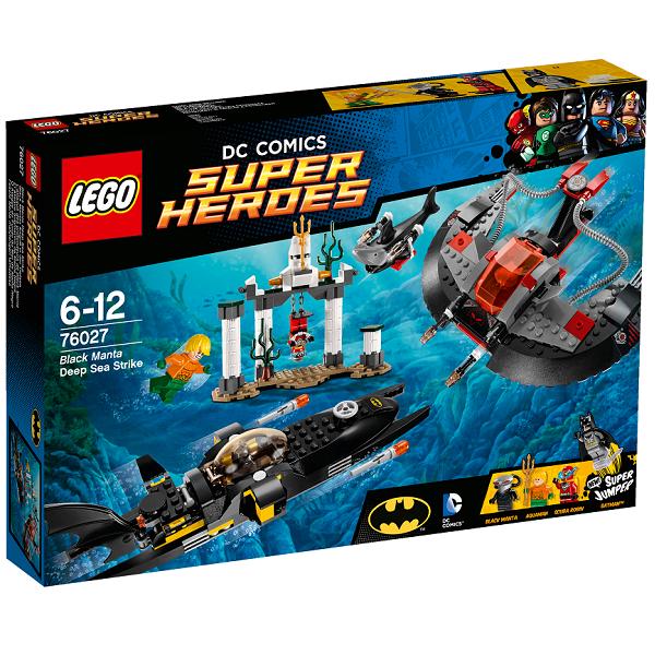 Sorte Mantas dybhavsangreb - 76027 - LEGO Super Heroes