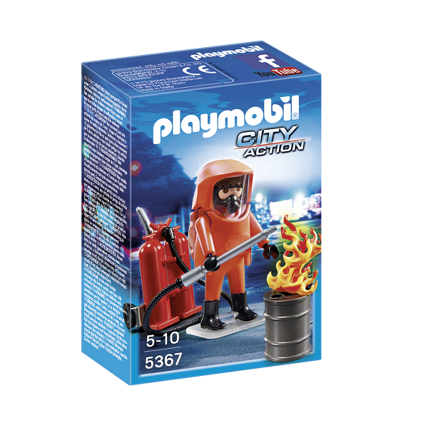 Image of Specialbrandmand- 5367 - PLAYMOBIL City Action (PL5367)