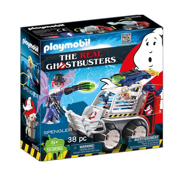 Image of Spengler med bur-køretøj - 9386 - PLAYMOBIL Ghostbusters (PL9386)