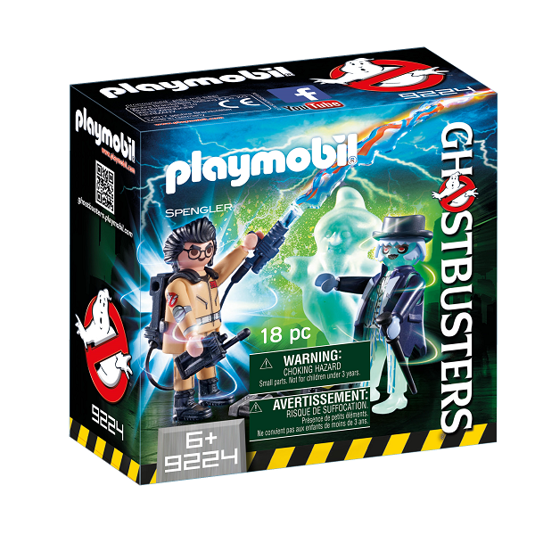 Image of   Spengler og spøgelse - 9224 - PLAYMOBIL Ghostbusters