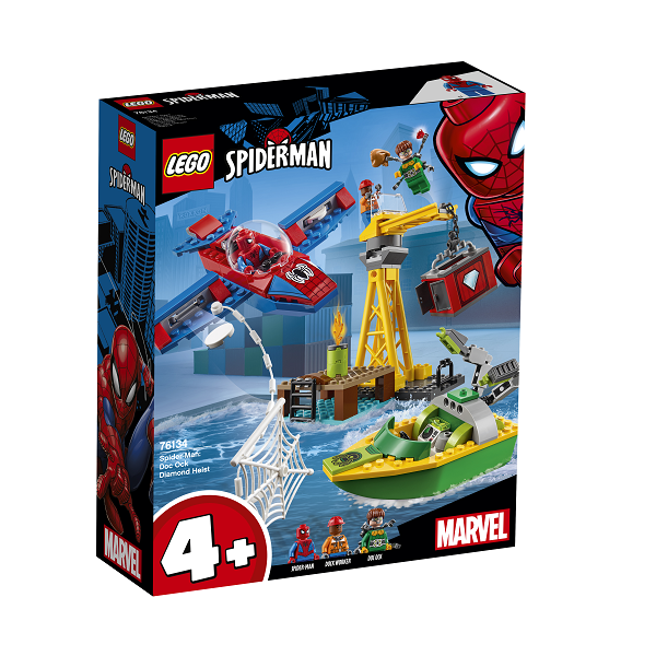 Image of Spider-Man: Doc Ocks diamantkup - 76134 - LEGO Super Heroes (76134)