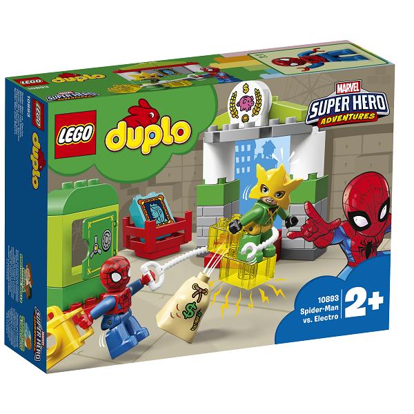 Image of Spider-Man mod Electro - 10893 - LEGO DUPLO (10893)
