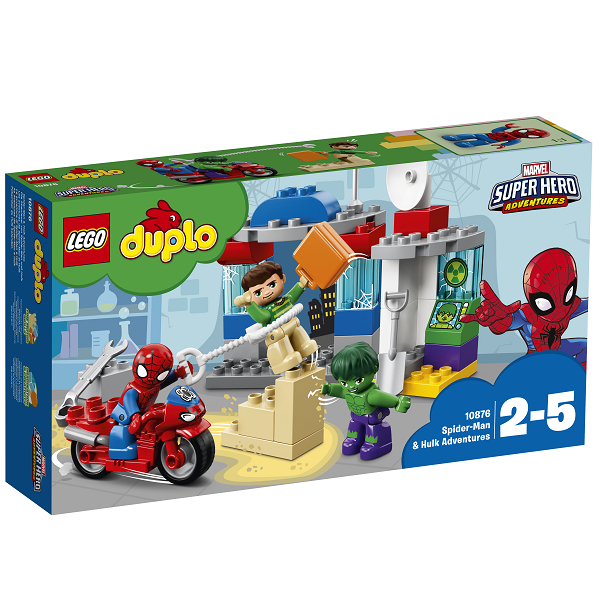 Image of Spider-Man og Hulks eventyr - 10876 - LEGO DUPLO (10876)