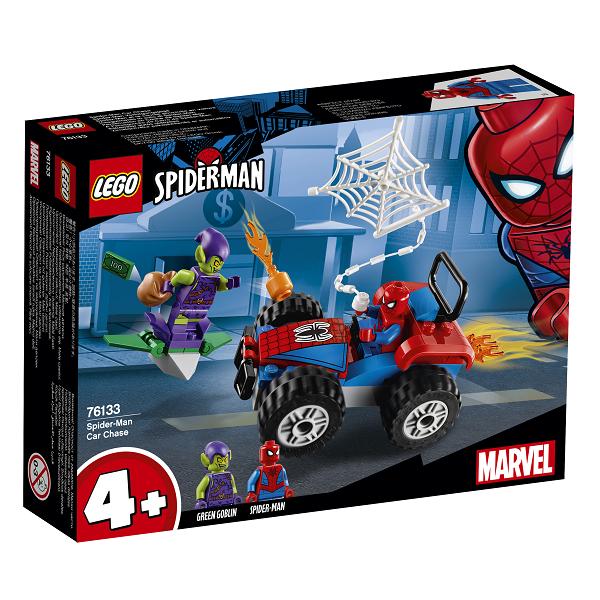 Image of Spider-Mans biljagt - 76133 - LEGO Super Heroes (76133)