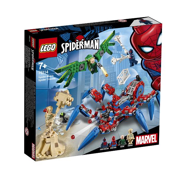 Image of Spider-Mans edderkoppekravler - 76114 - LEGO Super Heroes (76114)