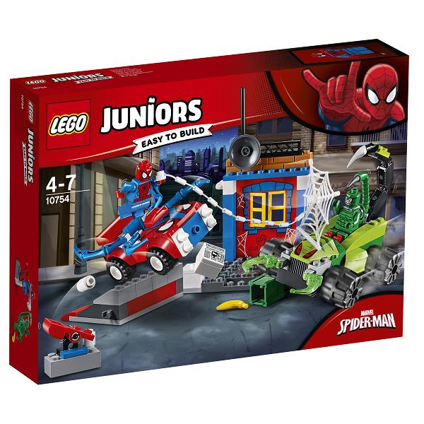 Image of Spider-Mans gadekamp mod Scorpion - 10754 - LEGO Juniors (10754)