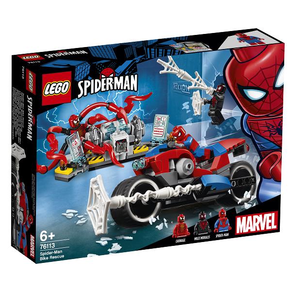 Image of Spider-Mans motorcykelredning - 76113 - LEGO Super Heroes (76113)
