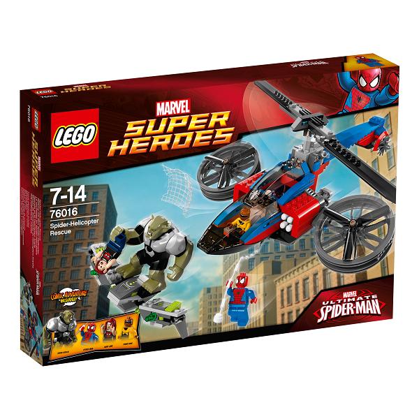 Spiderhelikopter til undsætning - 76016 - LEGO Super Heroes