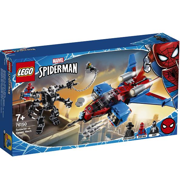 Image of Spiderjet mod Venom-robot - 76150 - LEGO Super Heroes (76150)