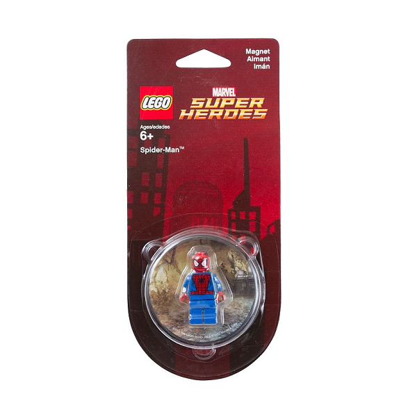 Image of Spiderman køleskabsmagnet - LEGO Super Heroes (850666)