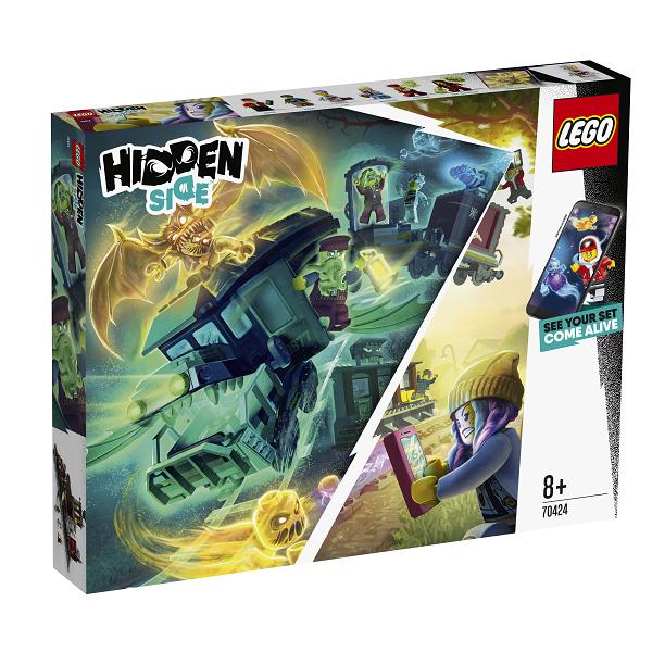 Image of Spøgelsesekspressen - 70424 - LEGO Hidden Side (70424)