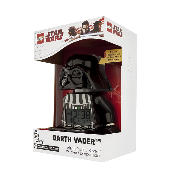 LEGO Star Wars Darth Vader Figur-vækkeur - LEGO Watch