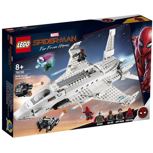 Image of Stark-jetten og droneangrebet - 76130 - LEGO Super Heroes (76130)