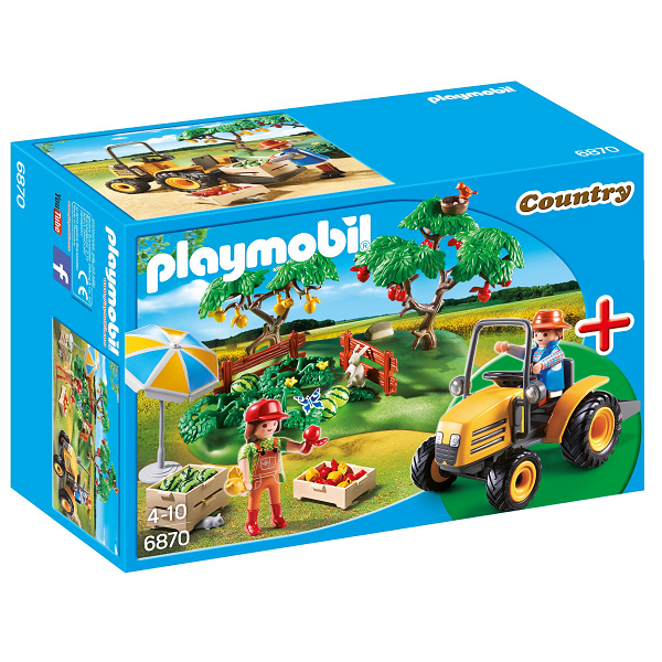 Image of StarterSet Frugthave - PL6870 - Playmobil Country (PL6870)