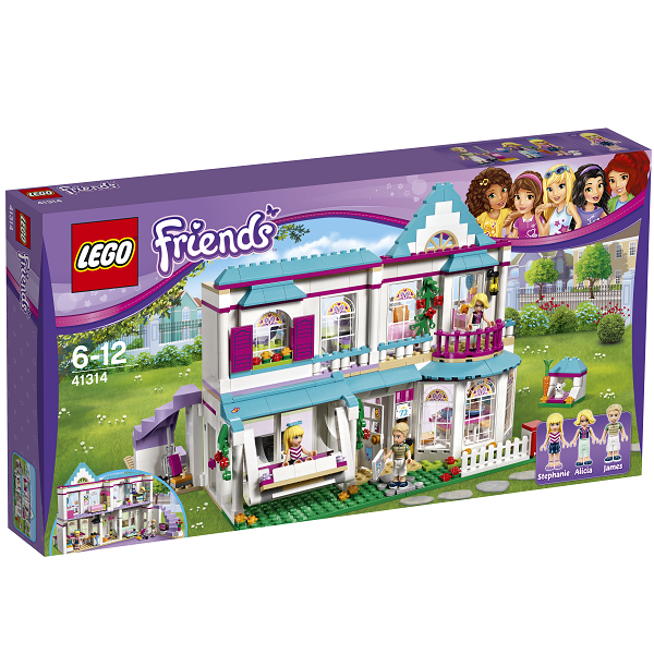 Image of   Stephanies hus - 41314 - LEGO Friends