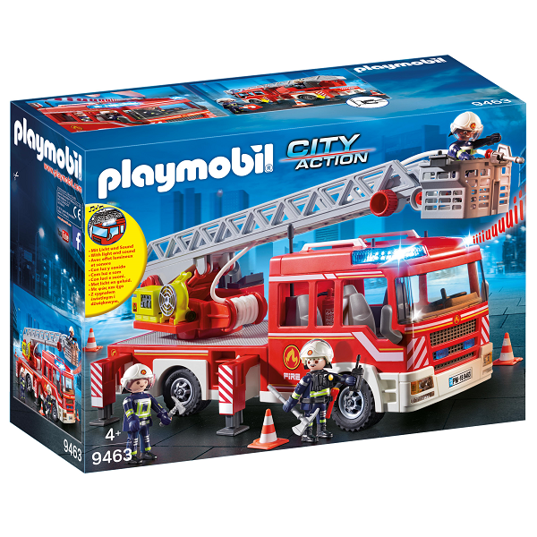 Image of Stigeenhed - 9463 - PLAYMOBIL City Action (PL9463)