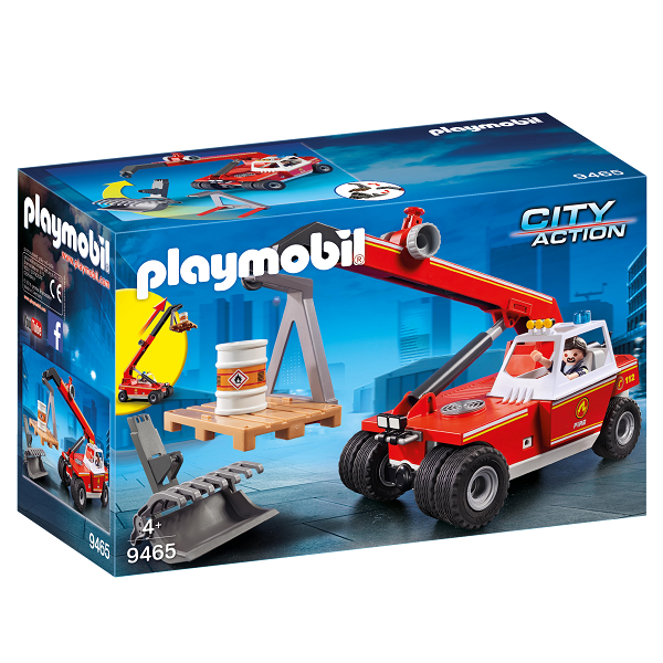 Image of Stigevogn - 9465 - PLAYMOBIL City Action (PL9465)
