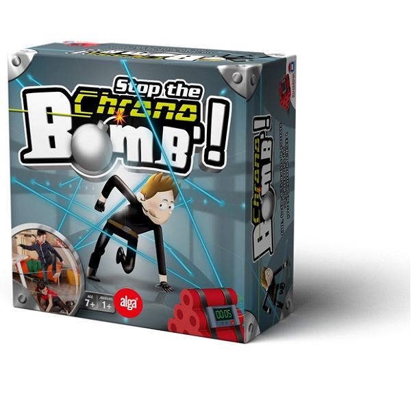 Stop the Chrono Bomb - Fun & Games