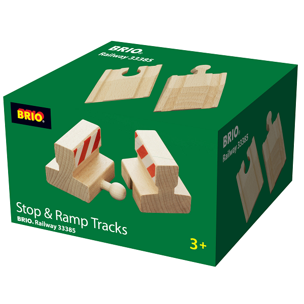 Stopklodser og ramper - 33385 - BRIO Tog