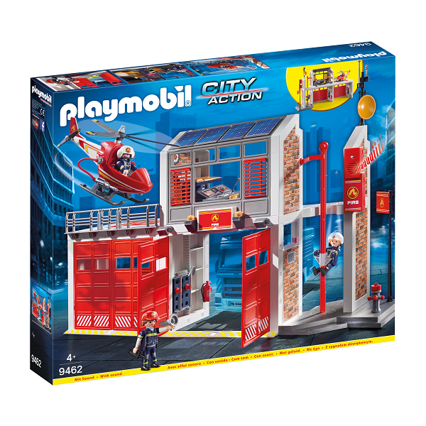 Image of Stor brandstation - 9462 - PLAYMOBIL City Action (PL9462)