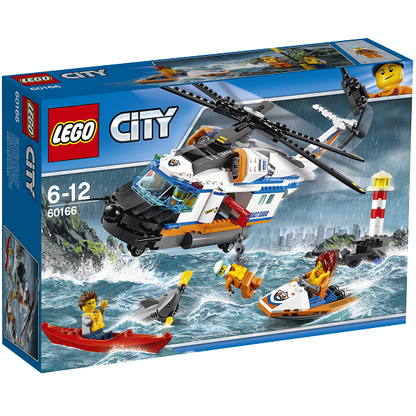 Image of Stor redningshelikopter - 60166 - LEGO City (60166)